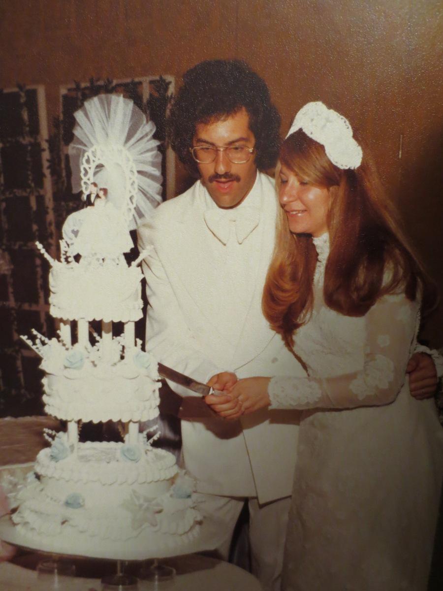 Seventies wedding