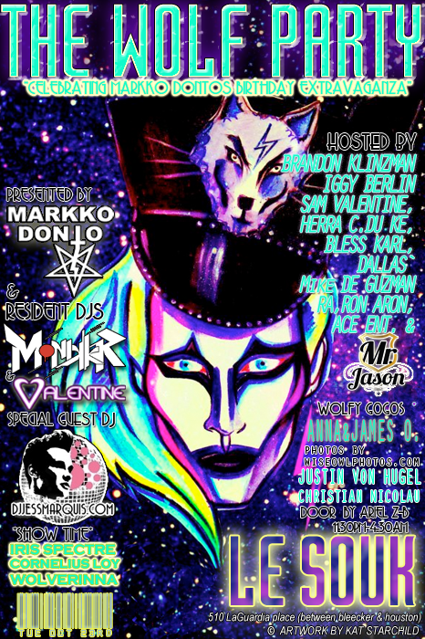 Markko Donto Wolf Party