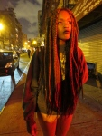 Dreadlocks Woman