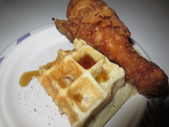 Art Smith Chicken and waffles
