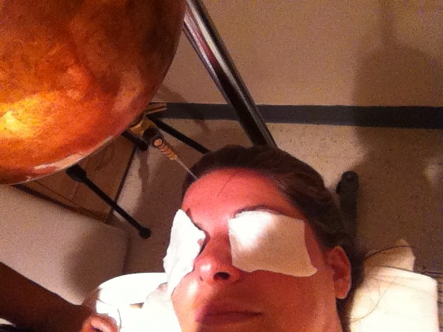 Third eye chakra oil