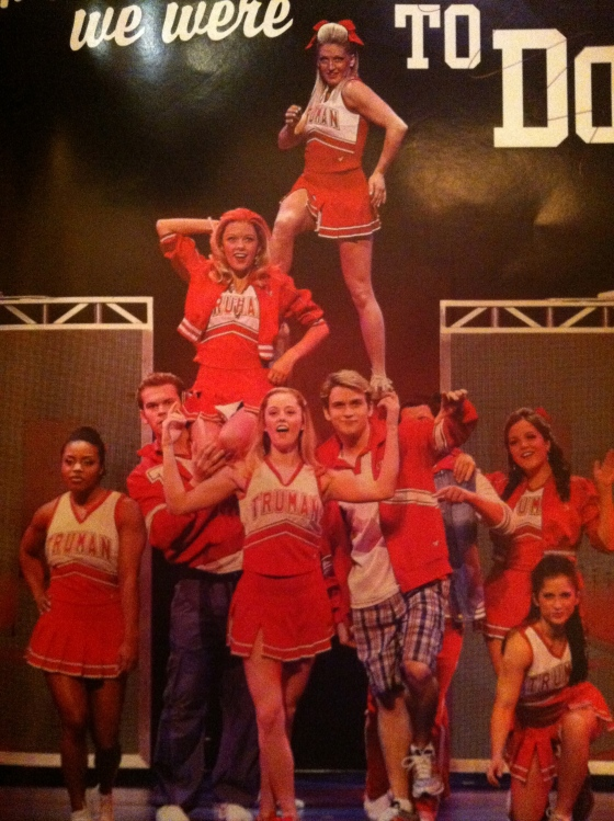 Cheerleaders in Bring It On the musical