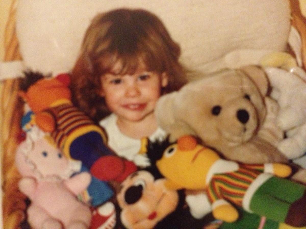 Little Michelle Joni and friends