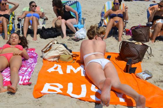 Michelle Joni beaching