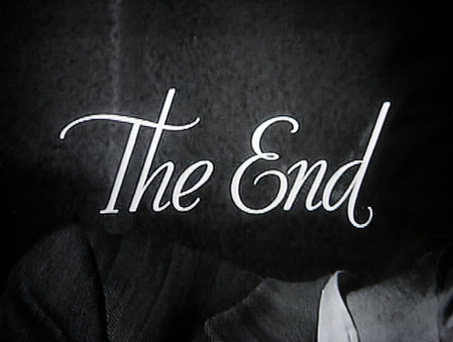 The end image