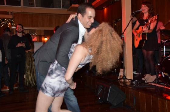 afro girl dancing